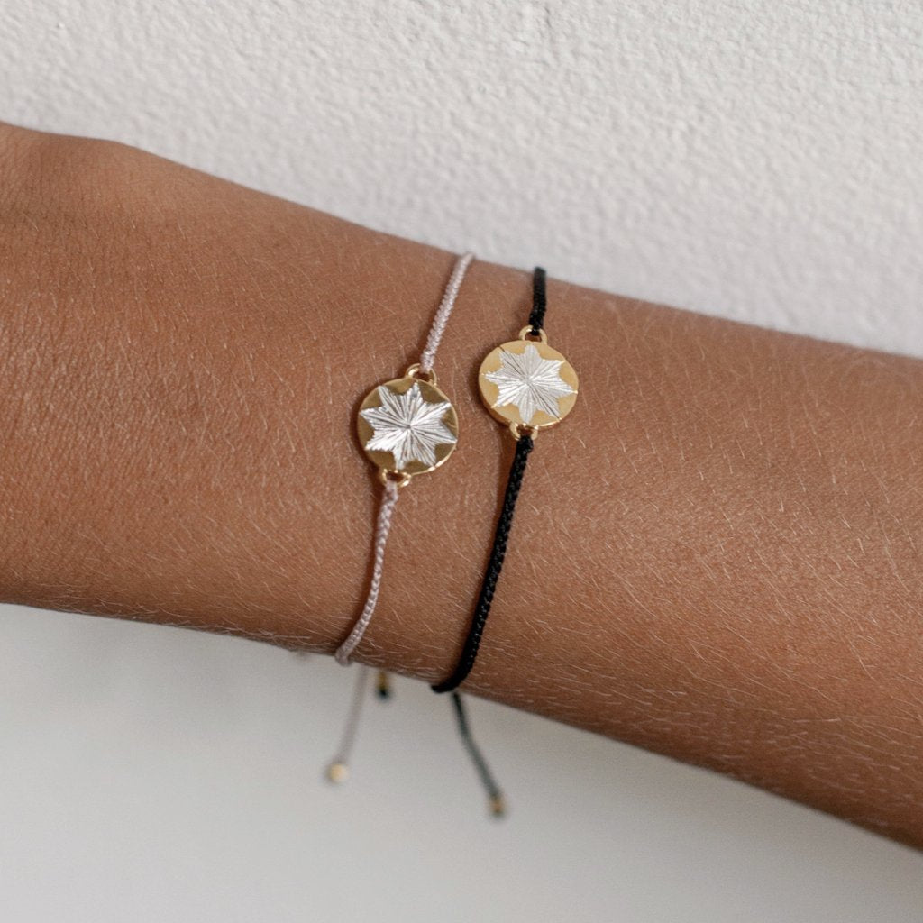Dawn + Dusk Silk Bracelet | Gold
