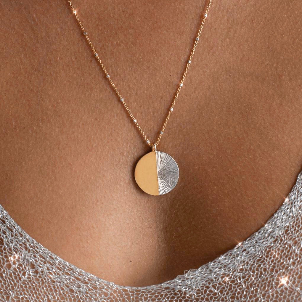 Solstice Necklace | Gold