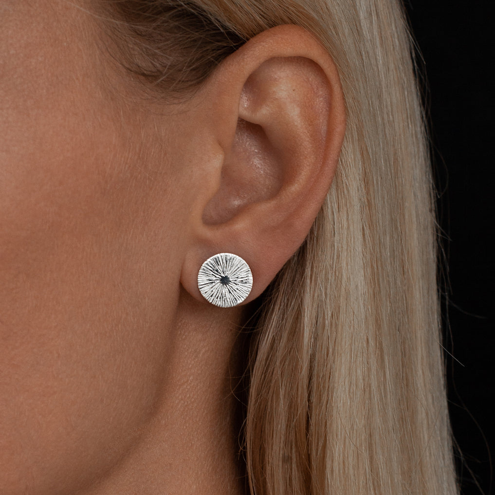 Cosmic Studs | Silver