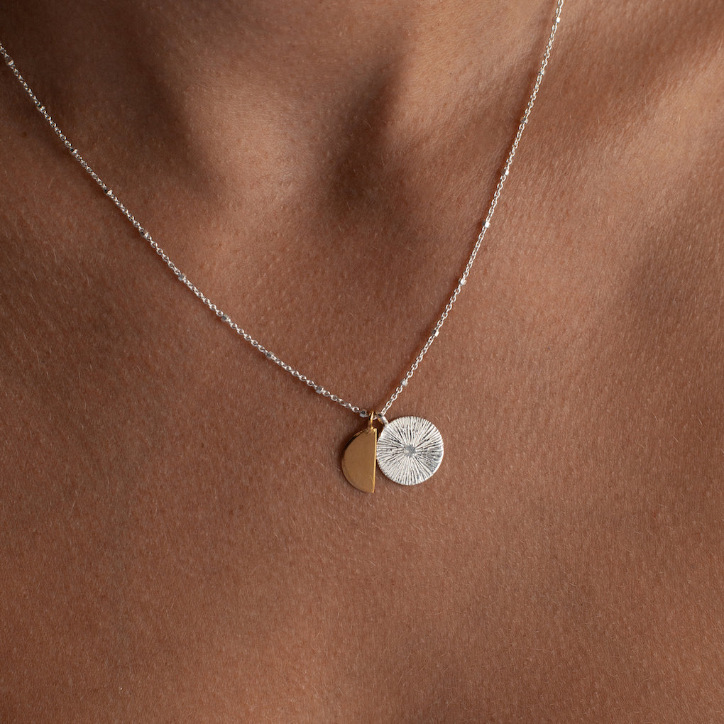 Demi Solstice Necklace | Silver
