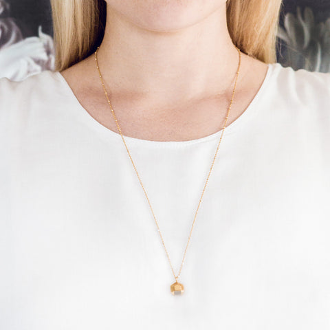 Hey Now Necklace | Gold