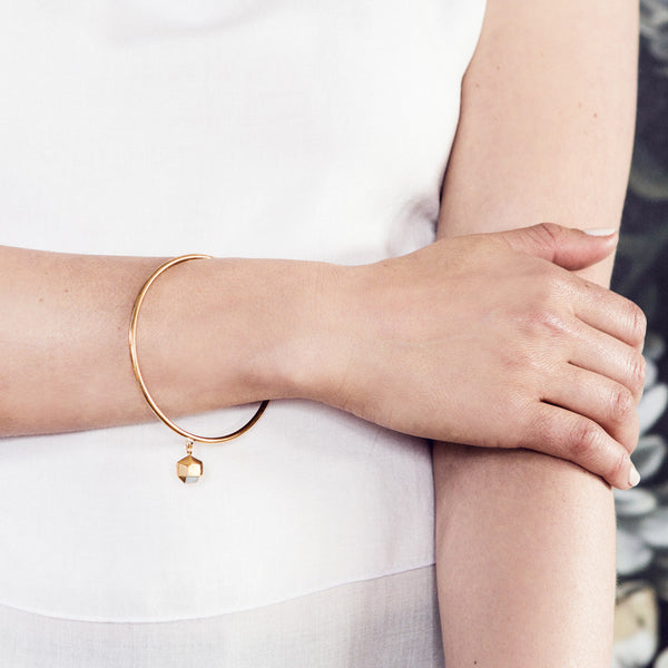 Sunday Morning Bangle | Gold