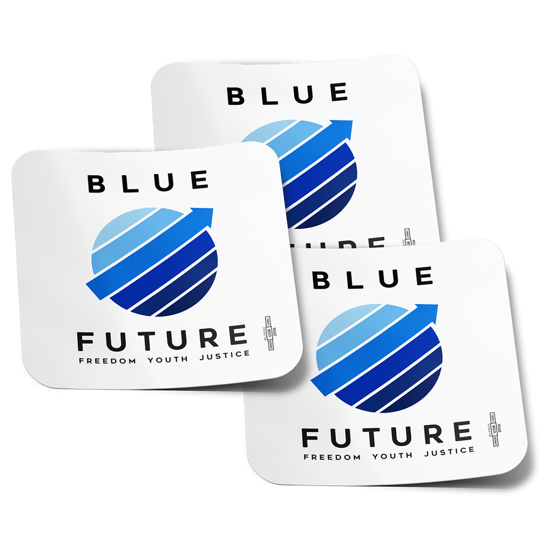 Blue Future Stickers