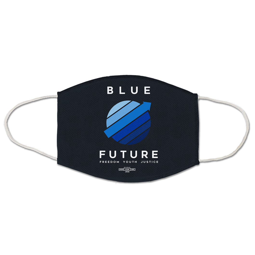 Blue Future Mask