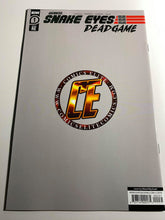 Load image into Gallery viewer, SNAKE EYES DEADGAME #1 EXCLUSIVE MARAT MYCHAELS VIRGIN VARIANT COMIC BOOK