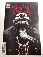 Load image into Gallery viewer, VENOM #27 (1:100) BLACK AND WHITE VARIANT COMIC BOOK