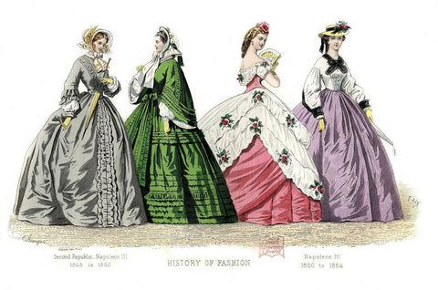 13th to 18th Century Dresses