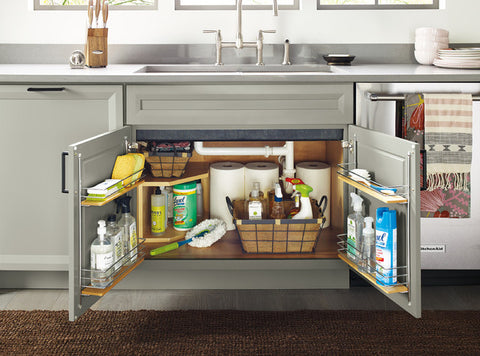 Don't forget the cabinet under the sink