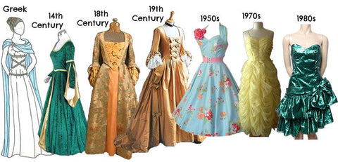 The Evolution of Dress Through The Ages