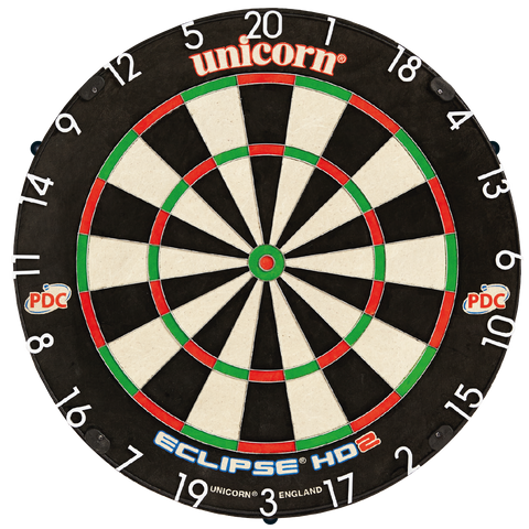 Unicorn HD2 Pro Dartboard with Uni-Lock