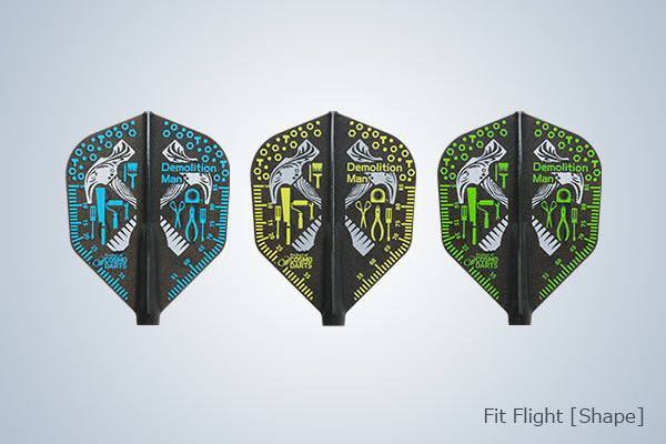 Cosmo Fit Flights - Shape - Darren Webster - 3 pack