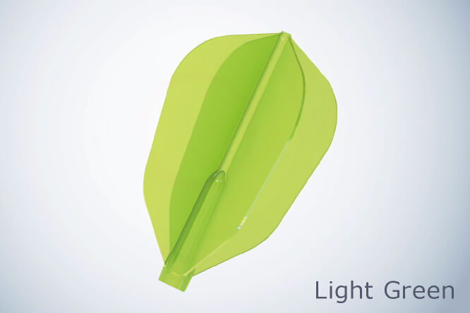 Cosmo Fit Flights - Super Shape Air Light Green - 3 pack (1 set)