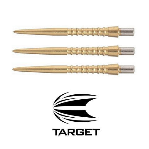 Target - Storm Grooved Points - Gold - 30mm