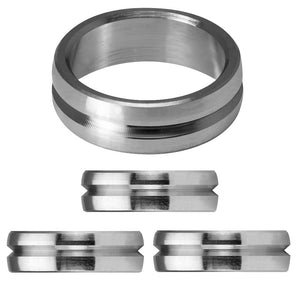Mission F-Lock Rings - Titanium - Set of 3 rings
