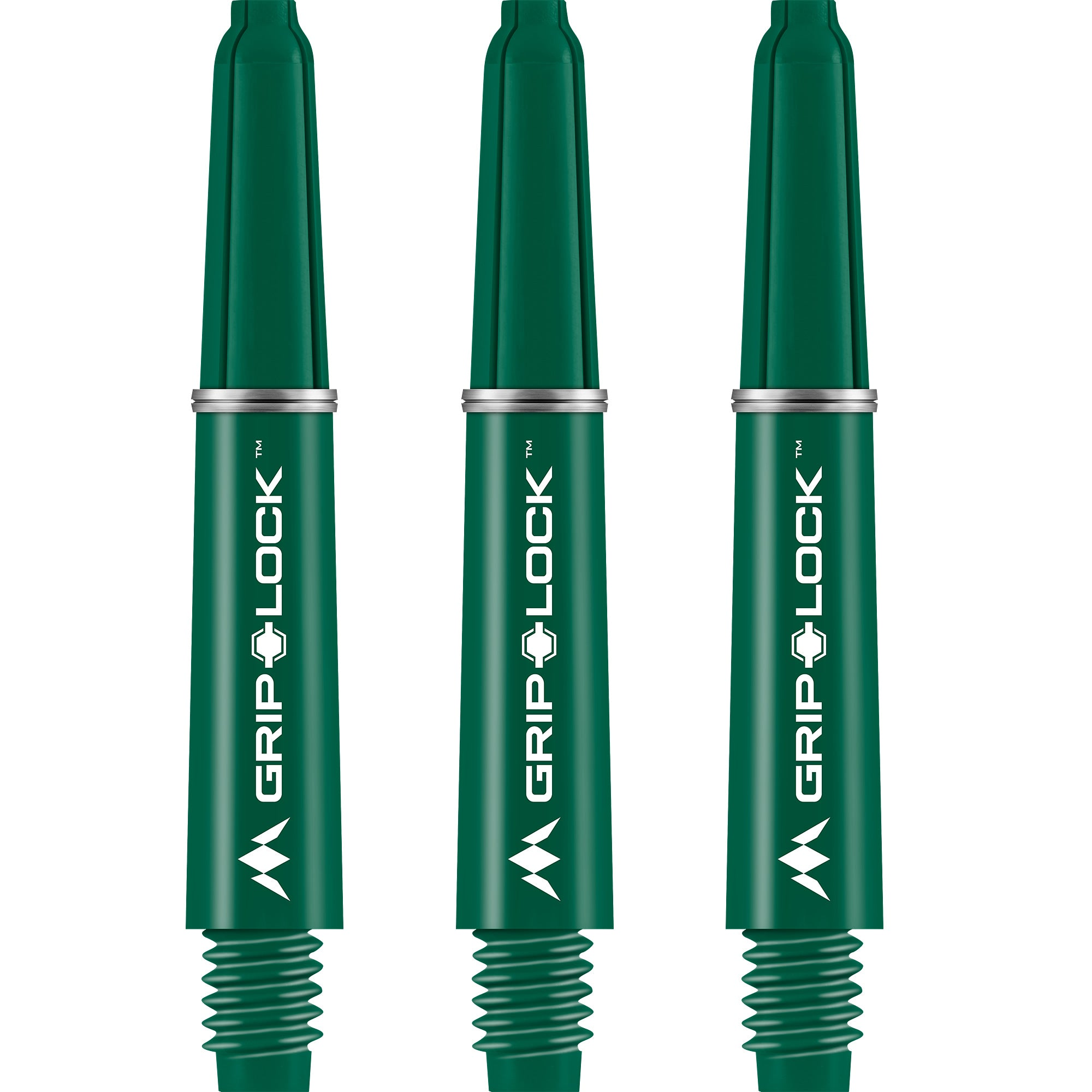 Mission GripLock Stems - Strong Nylon - Green