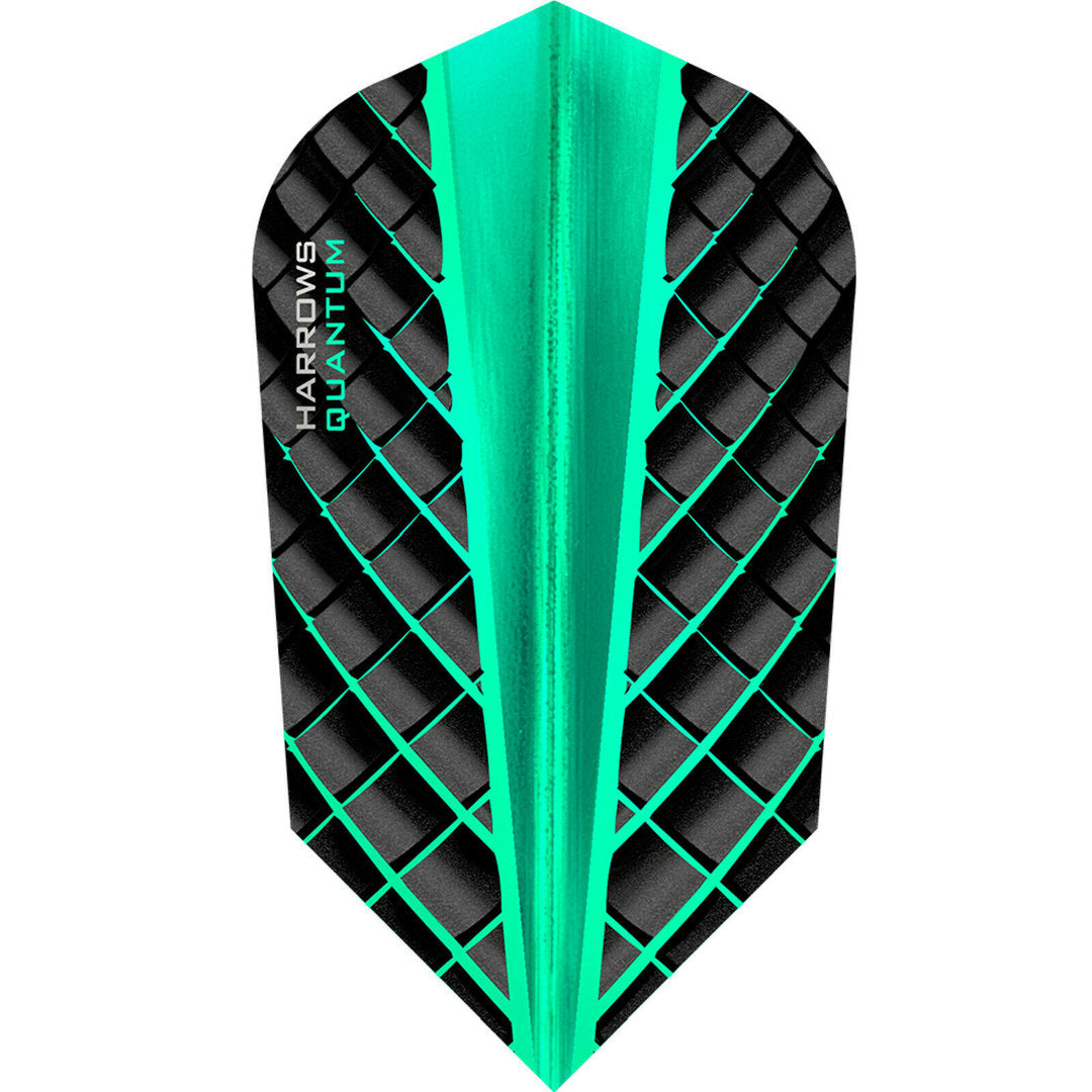 Harrows Quantum 3D UV 100 micron Flights - Jade Slim