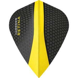 Harrows Retina Flights - Kite - 100 micron - Yellow