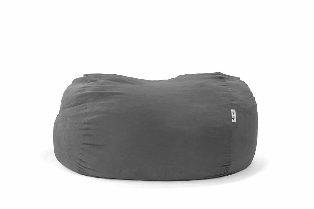 Dark Grey oversized bean bag
