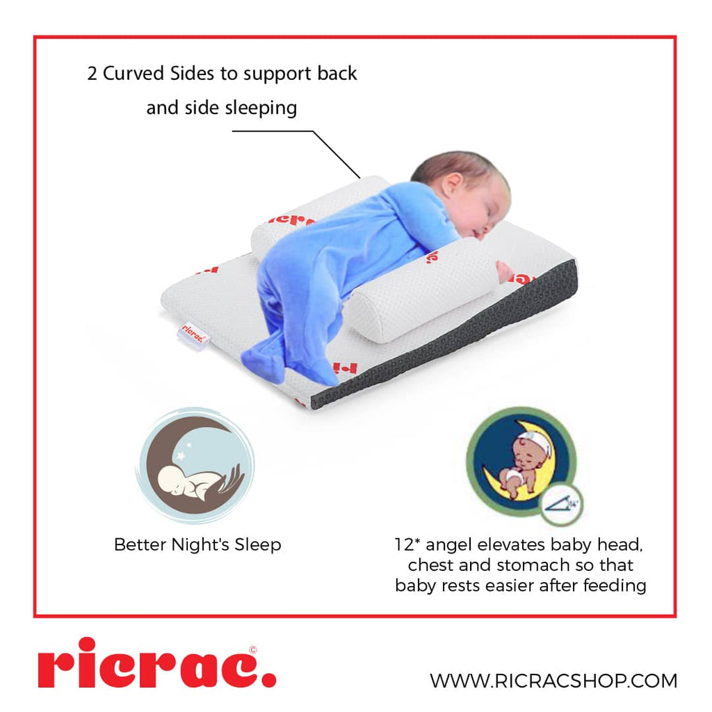 Back and Side Sleep Positioner - Recto