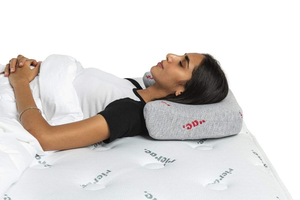 Waved Neck Side Sleepers Pillow
