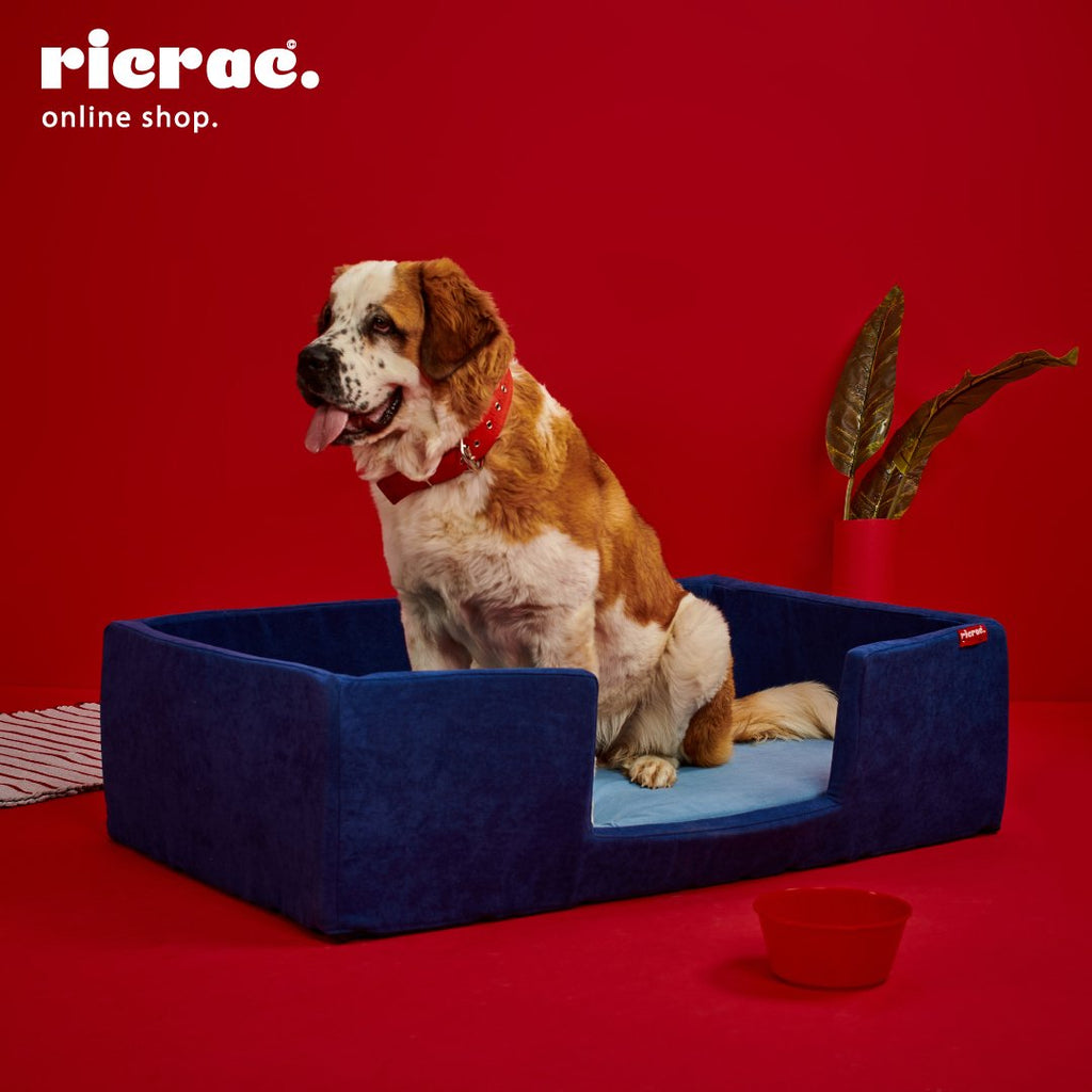 Rino- Rectangular Bed for dogs and cats - best dog bed in egypt