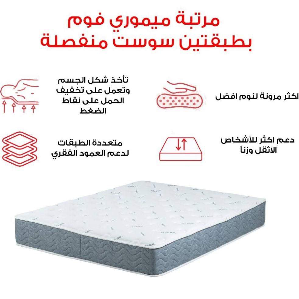 memory foam mattress RicRac Egypt