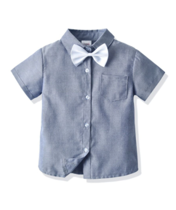 Boys Bow Tie Shirt