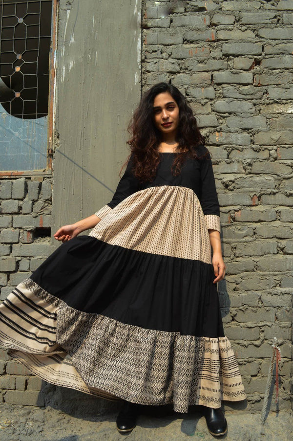 Blackash Dress Dresses Angrakhaa.com