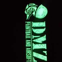 Load image into Gallery viewer, DMZ Paintball and Airsoft Patches   Green  /  Black /  Glow in Dark