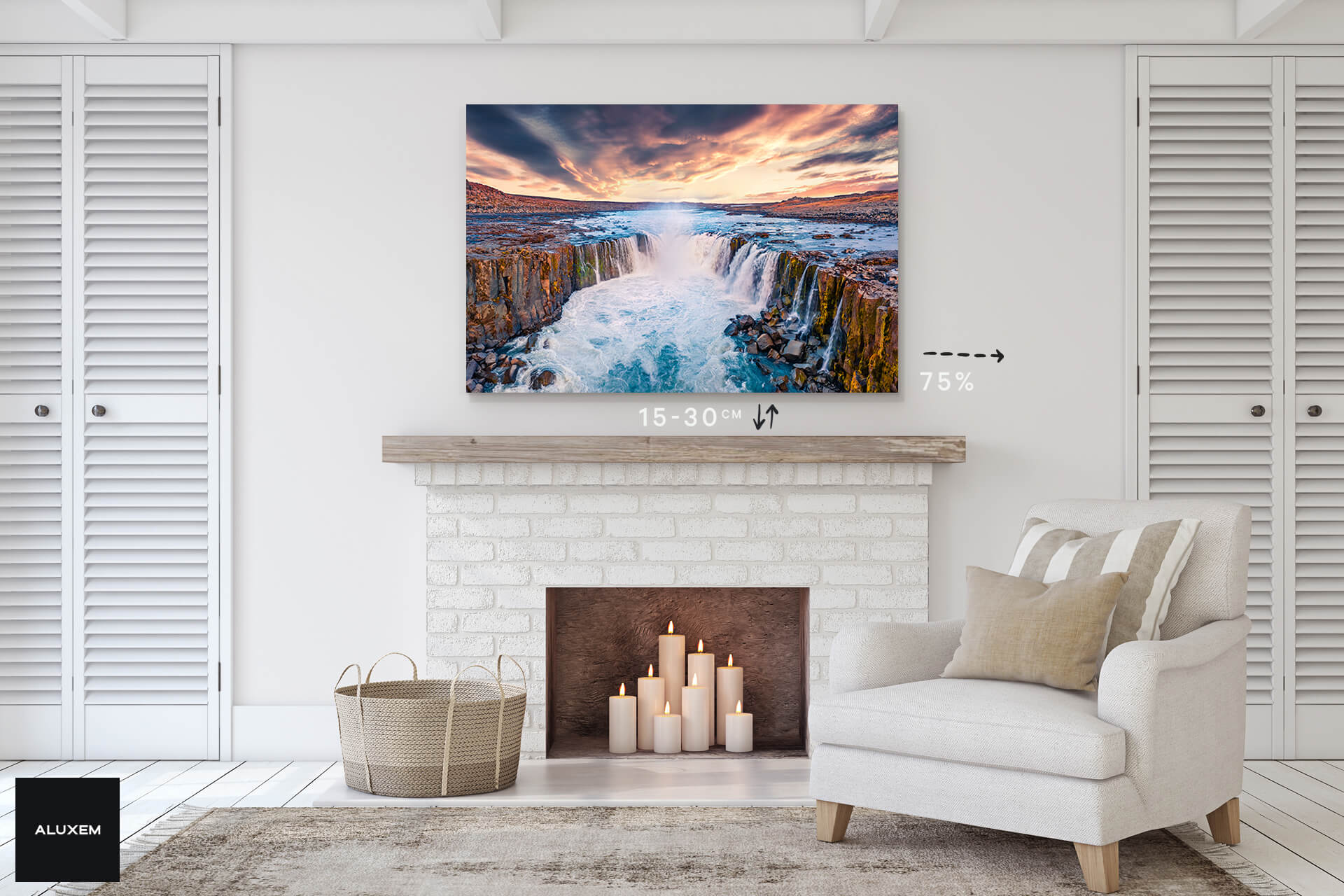 How to choose the right wall art size?