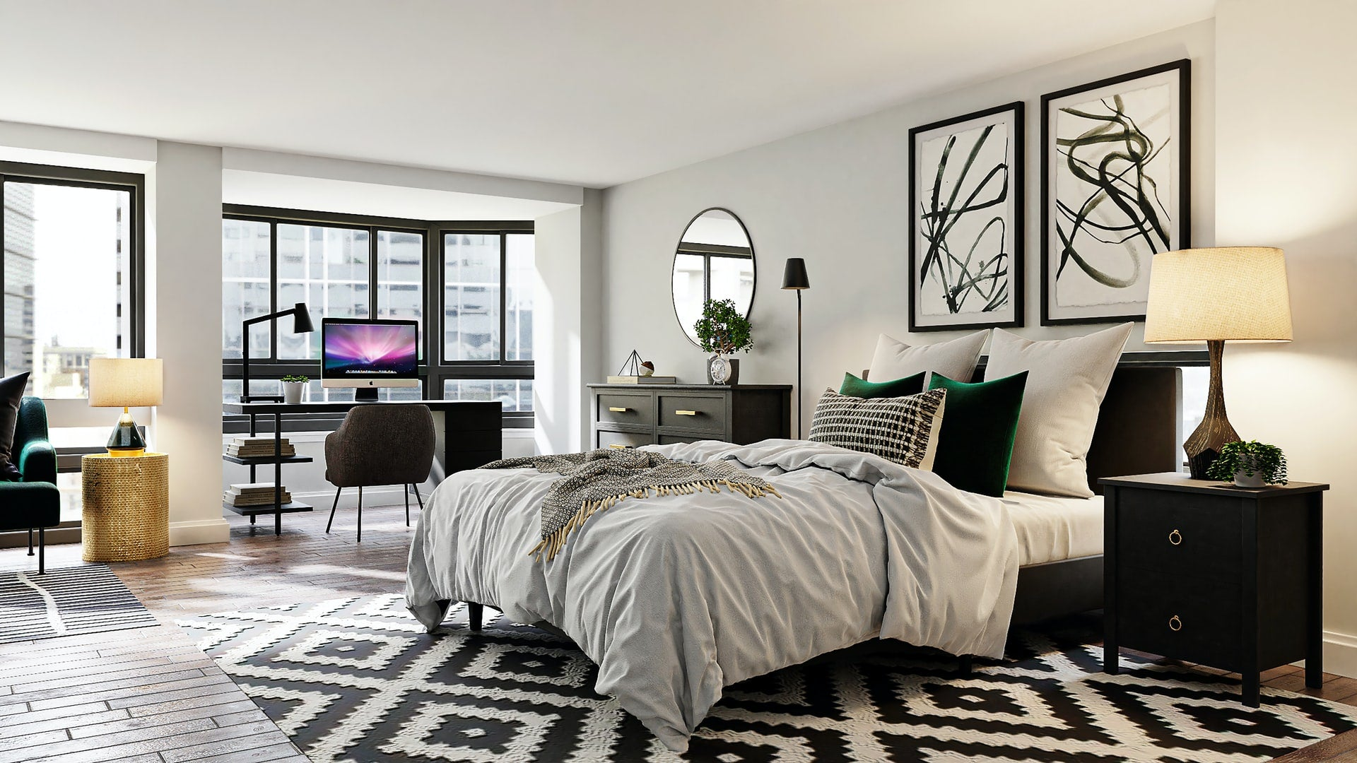 Why is wall art so important in interior design