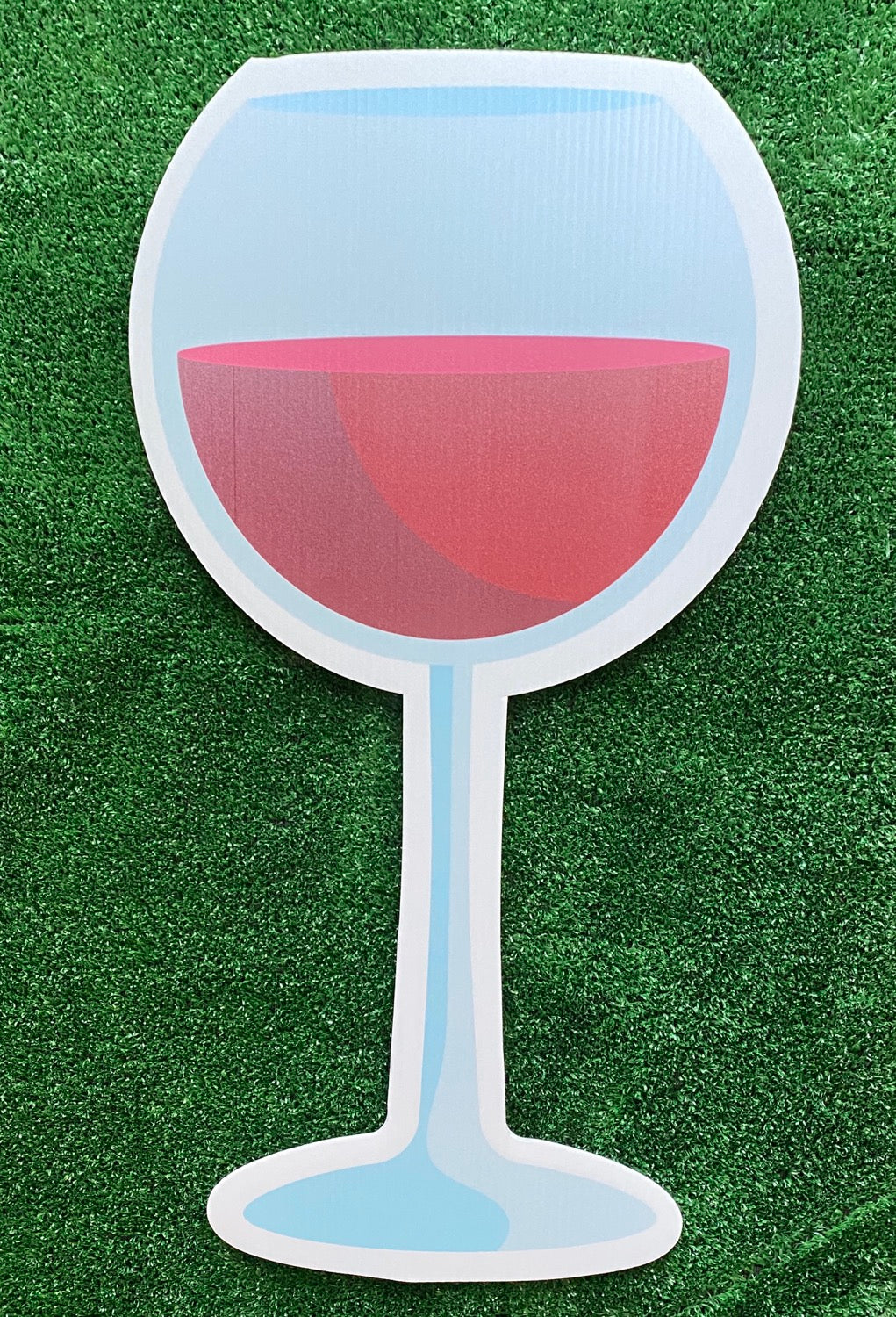 Large Red Wine Glass Add On
