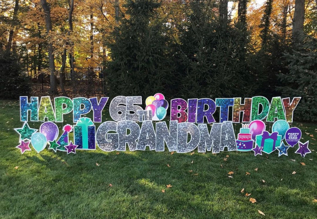 'STELLA' Rainbow Birthday Theme