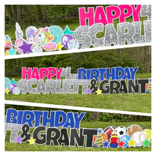 Load image into Gallery viewer, Multi Color Double Birthday