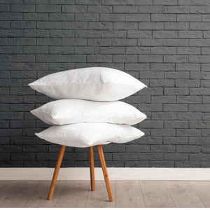 Support + Side | Microfiber Fill Pillows- Basic Big Box, set of 8 or 10 - CLEAN DESIGN HOME