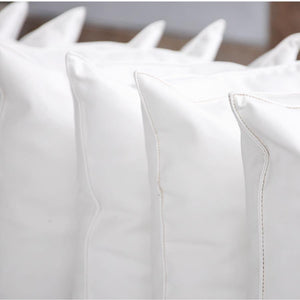 Support + Comfort | Microfiber Fill Pillows- Basic Big Box, set of 8 or 10