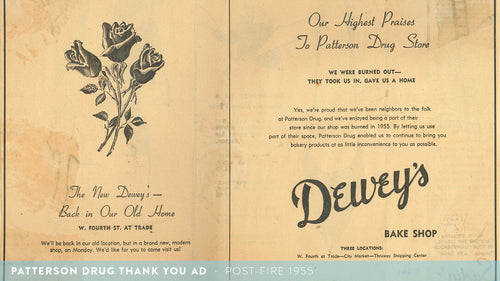 Patterson Drug Thank You Ad