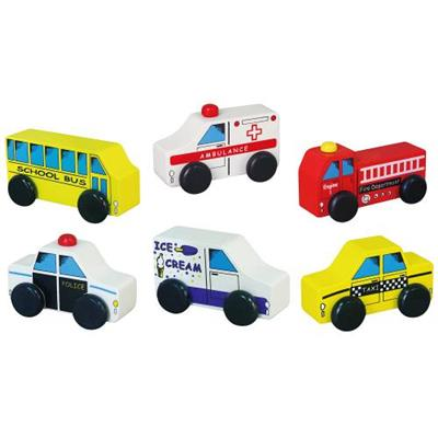 City Vehicles 6Pc - Basedonlogistics