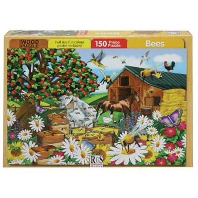 Bees Beekeeper Puzzle 150Pc - Basedonlogistics