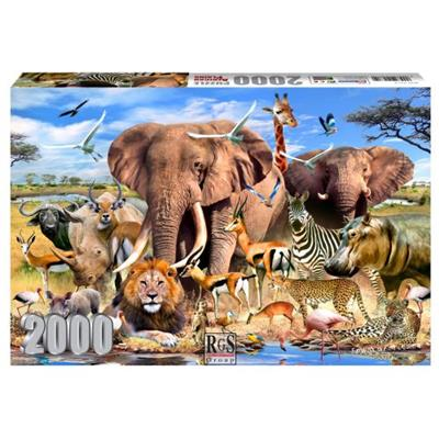 African Plains Puzzle 2000Pc - Basedonlogistics