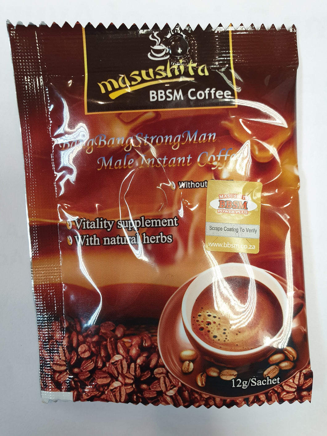 Masushita BBSM Coffee Pack of 30 Sachets - Basedonlogistics