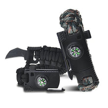 Load image into Gallery viewer, 5 IN 1 PARACORD SURVIVAL BRACELET