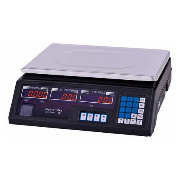 Electronic Digital Price Scale - 40kg