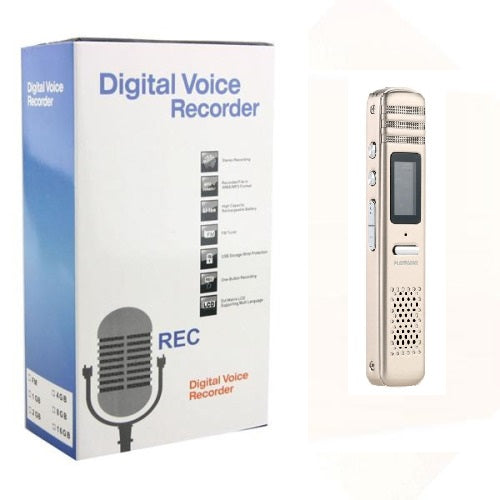 8GB RECHARGEABLE MULTIFUNCTIONAL DIGITAL VOICE RECORDER