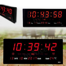 Load image into Gallery viewer, LED Large Display Digital LED Clock