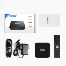 Load image into Gallery viewer, Mecool KM9 Pro Smart Voice Control TV Box Google Certified - Black 2GB RAM + 16GB