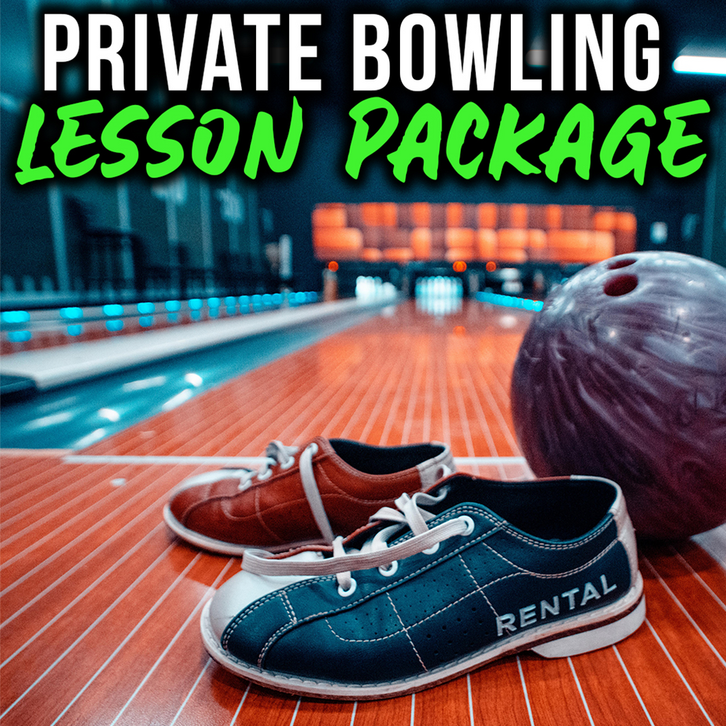 Private Bowling Lesson Package - 40% Off