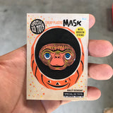 Cheap Plastic Mask: Home Phone Alien Pin!
