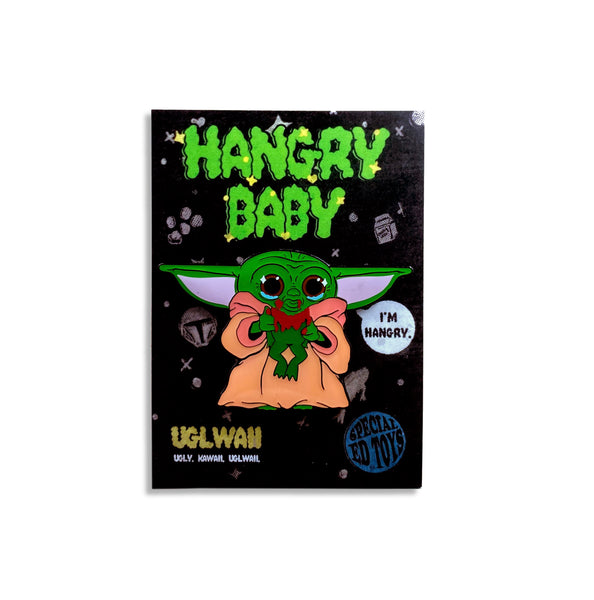 "The Hangry Baby: 2.3"" Enamel Pin"
