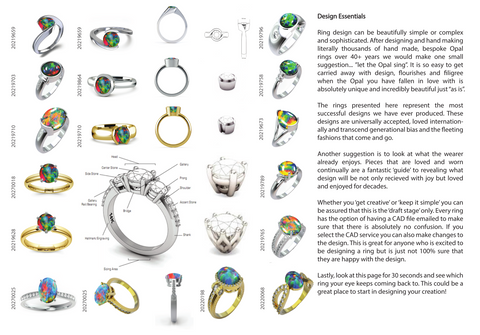 Ring Design, Manufacture Workshop Designs Prong, Claw, Bezel or Post.